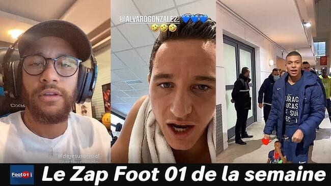 WTF : Thauvin s'éclate, Neymar sur son ordi, drôle de bizutage à l'OL