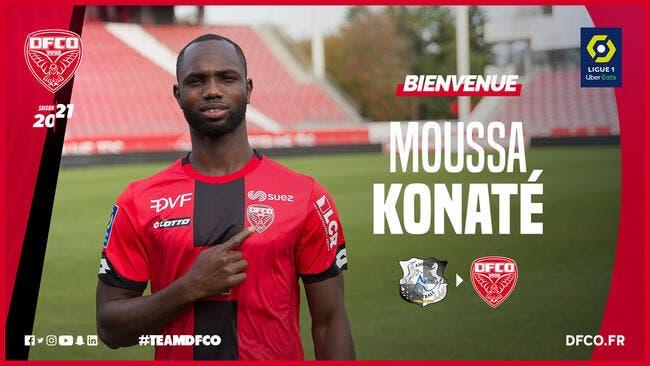 Mercato : Konaté vient renforcer Dijon