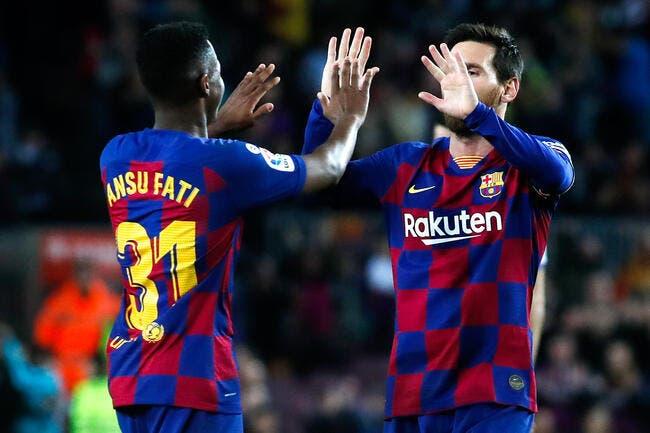 Barça : Le frère de Messi humilié par Ansu Fati