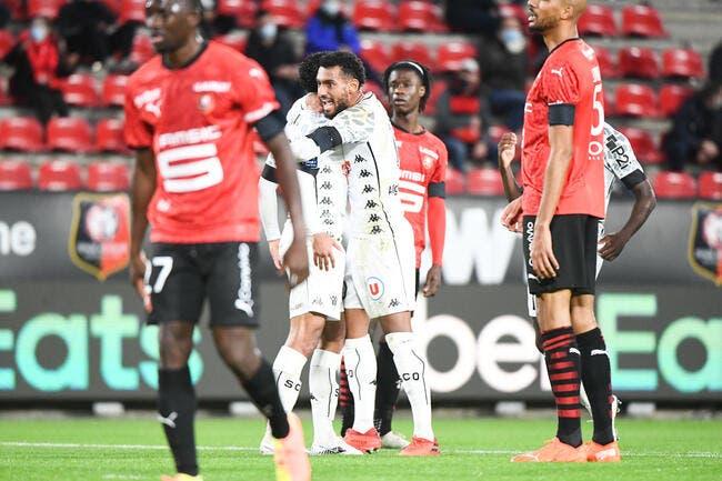 L1 : Angers fait chuter Rennes !