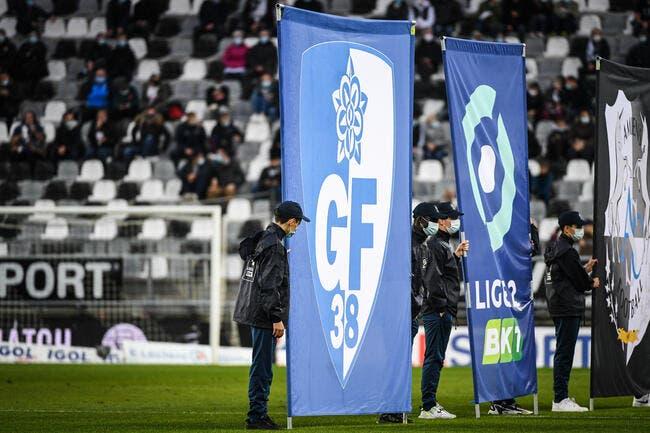 L2 : 13 cas de positif à Grenoble, match contre Nancy reporté