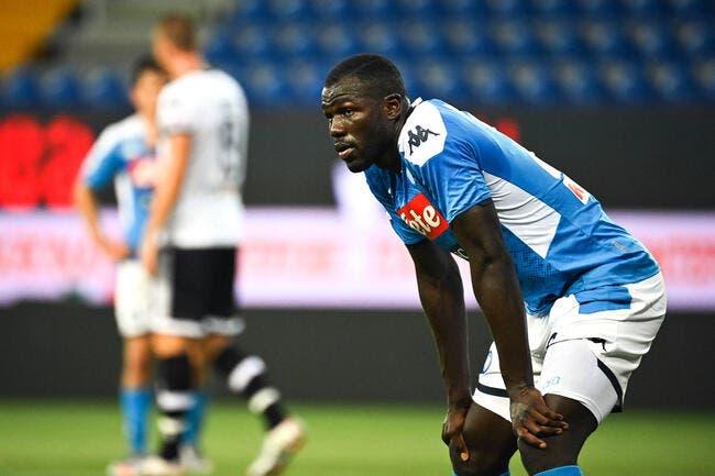 PSG: Koulibaly éloigné de Paris, Naples n'a pas eu à forcer