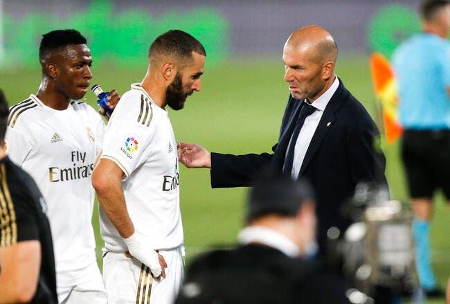 Real : Zidane, son amour pour Benzema va lui coûter cher