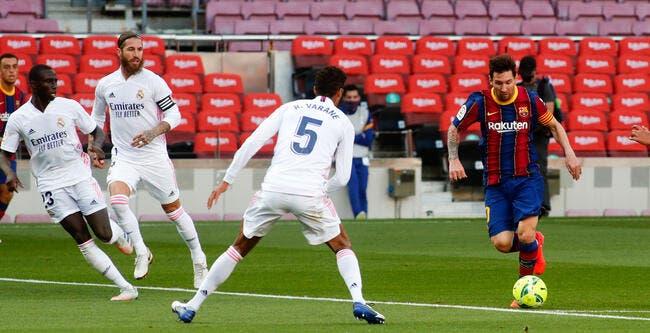 Liga : Sans Cristiano Ronaldo, Messi encore invisible dans le Clasico