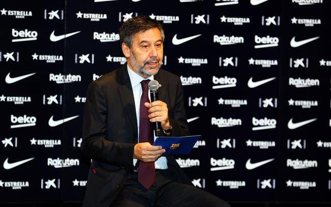 Esp : Bartomeu reste président du FC Barcelone