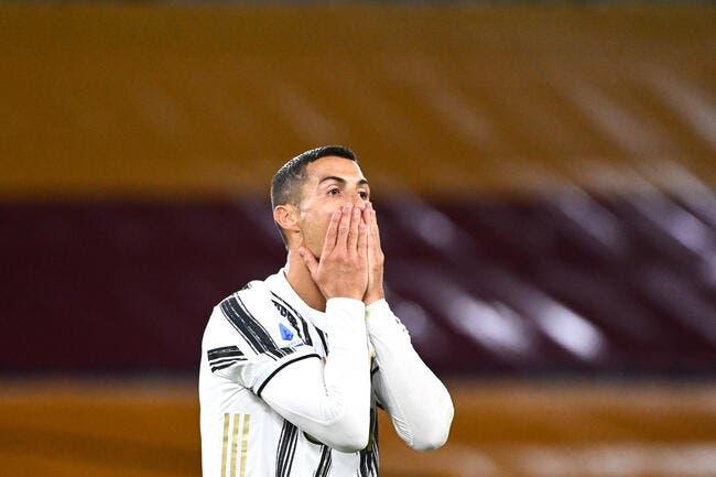 Ita : Le test PCR «c'est de la merde», Cristiano Ronaldo tousse