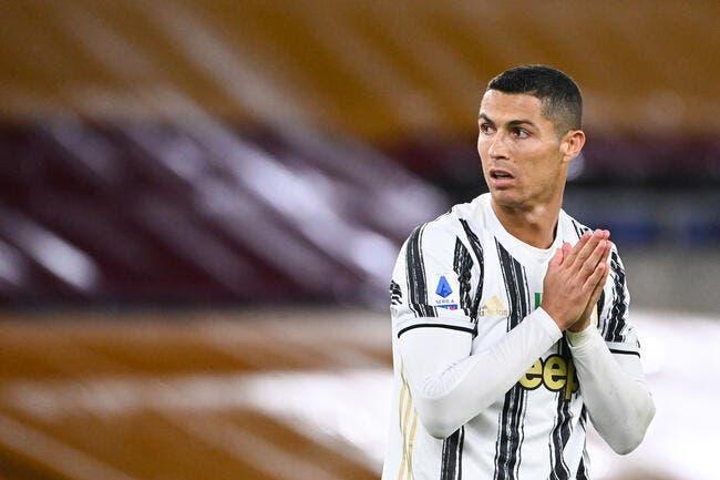 Juve : Cristiano Ronaldo dérape sur le covid, l'Italie l'assome