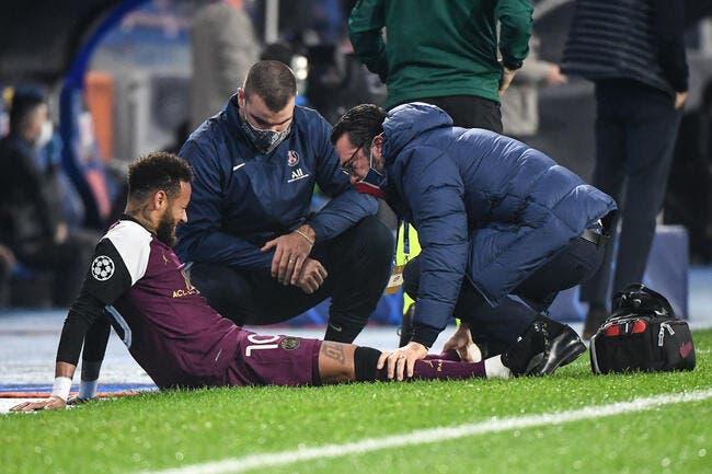 PSG : Neymar pas encore fixé sur sa blessure, Tuchel en stress