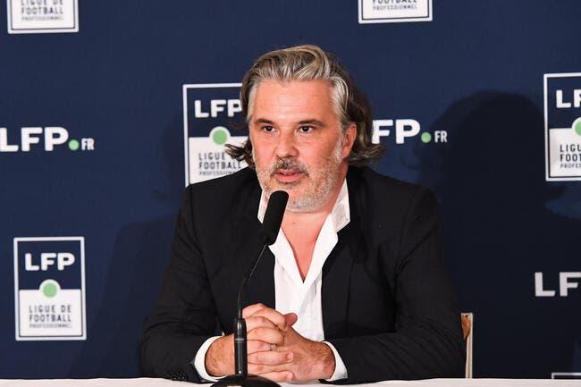 TV : Labrune c'est l'arme fatale de la Ligue 1 face à Mediapro