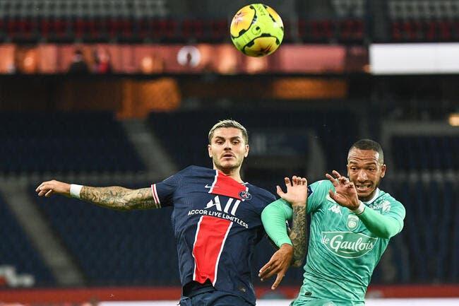 Icardi compare la L1 et la Serie A — PSG
