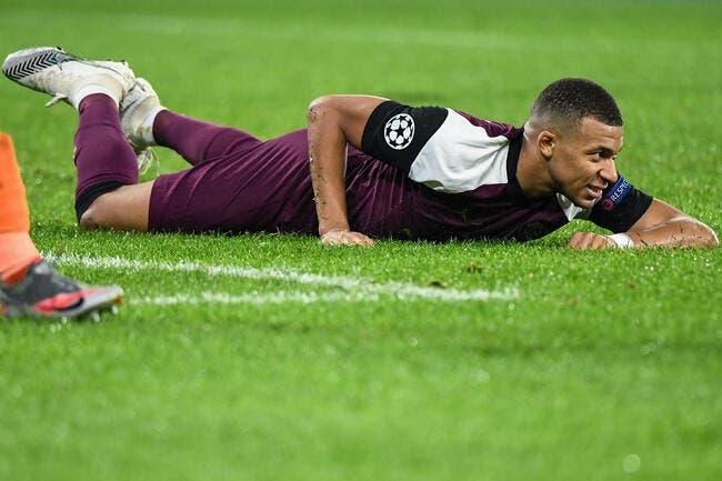 PSG : Plus flemmard que Messi, Mbappé se fait allumer