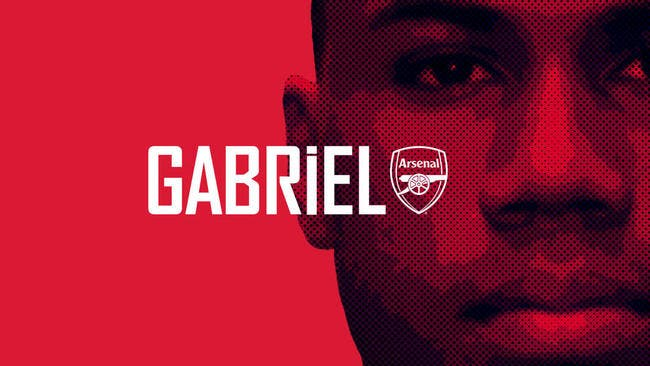 Officiel : Gabriel quitte Lille, il signe à Arsenal !