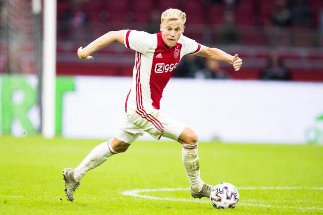 Mercato : Van de Beek signe à Manchester United
