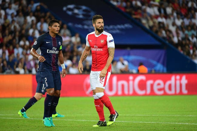 Mercato : Thiago Silva c'est du lourd, Giroud remercie le PSG