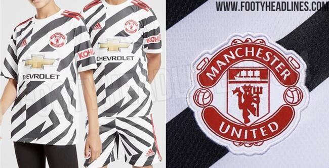 Ang : Manchester United sort le pire 3e maillot de son histoire !