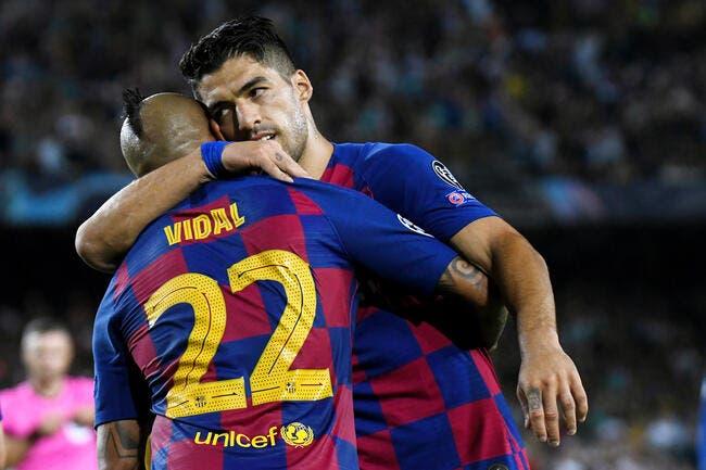Mercato: Le Barça s'active pour éjecter Suarez et Vidal