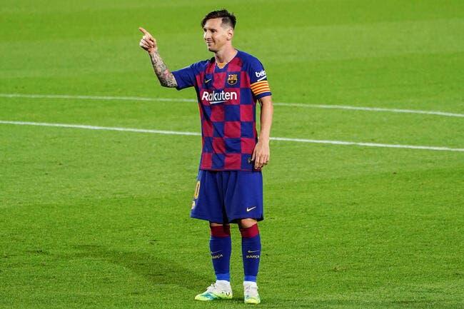 Barça : Lionel Messi de retour à l'entraînement !