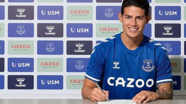 Premier League: Rodriguez rejoint Ancelotti à Everton