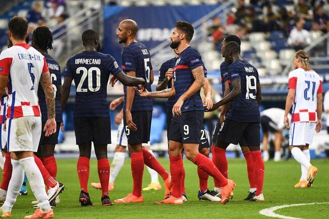 LdN : 4-2, la France bat encore la Croatie
