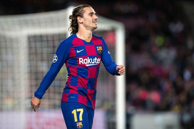 Esp: Pour Griezmann, les bonnes nouvelles s'enchaînent au Barça