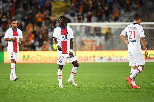PSG : Gueye refuse d'être poussé dehors par Herrera et Draxler