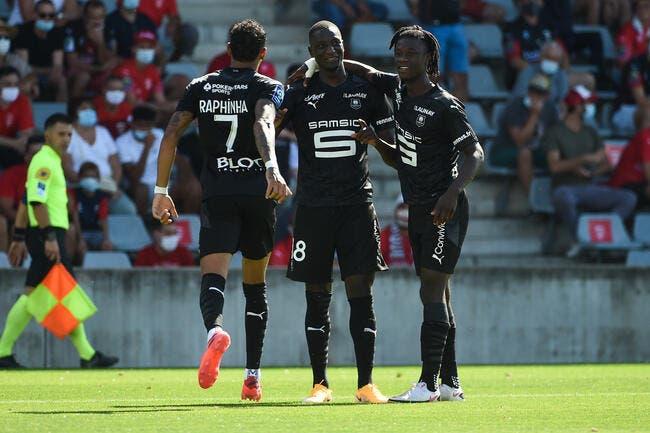 L1 : Rennes sauvé par ses recrues à Nîmes