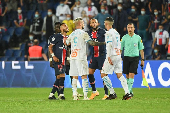Neymar accuse Alvaro de racisme — PSG-OM