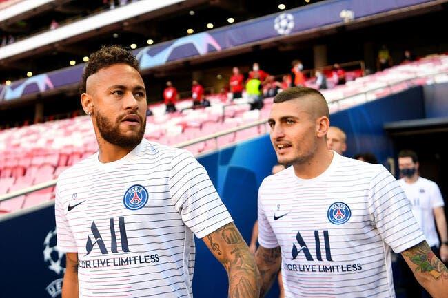 PSG : Verratti enfin patron ? Il préfère danser avec Neymar !