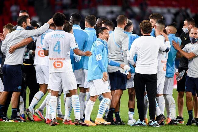 L'OM a battu le PSG, fête nationale à Marseille