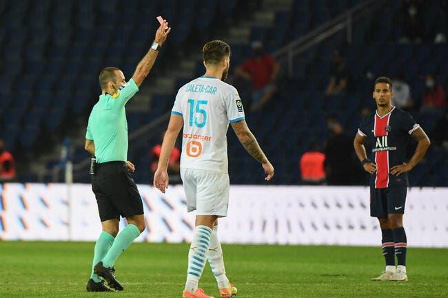L1 : PSG-OM, l'arbitre Jérôme Brisard félicité pour son match