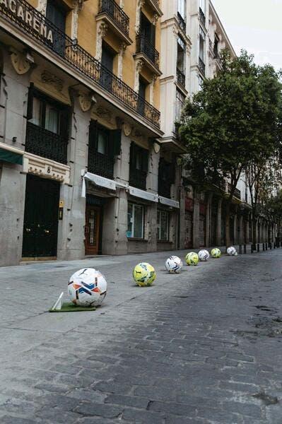 Liga : Une pub pour Puma fait des blessés à Madrid