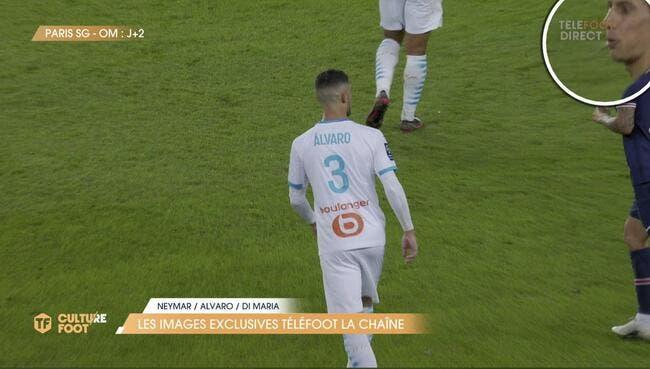 PSG : Téléfoot dévoile les images, Di Maria a bien craché !