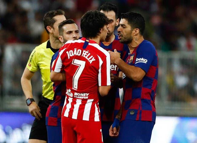 Mercato : Luis Suarez tout proche de l'Atlético Madrid !