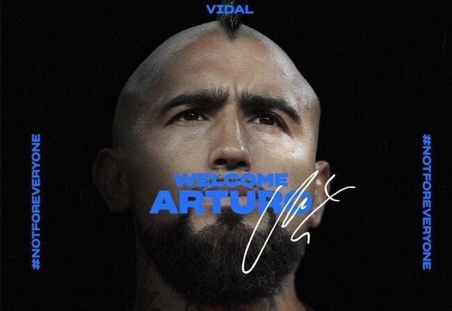 Officiel : Arturo Vidal quitte le Barça et signe à l'Inter Milan