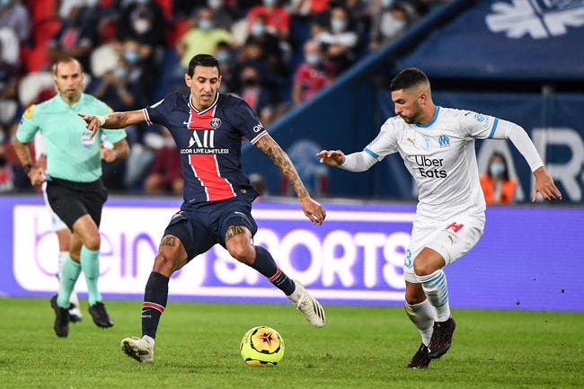 PSG-OM : Di Maria suspendu 4 matchs pour son crachat !