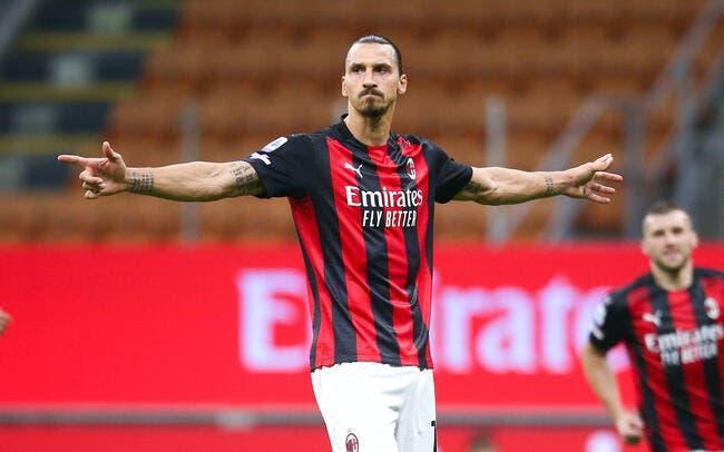 Serie A : Ibrahimovic met le Covid-19 au défi