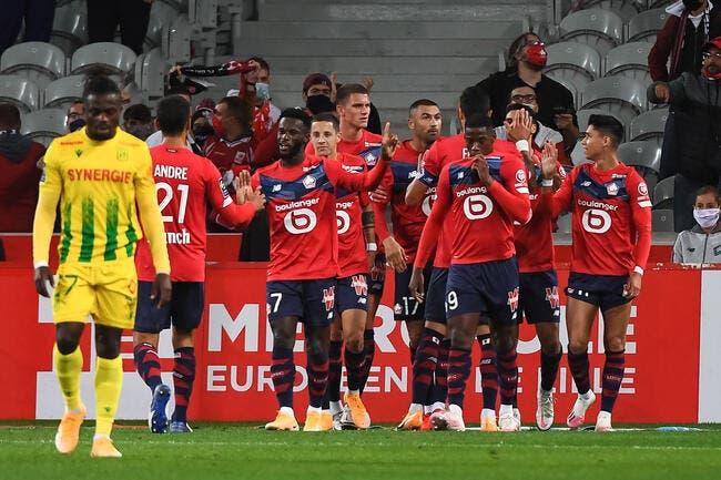 L1 : Le LOSC enchaîne face à Nantes et prend la tête