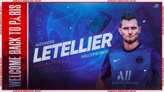 Officiel : Letellier revient au PSG