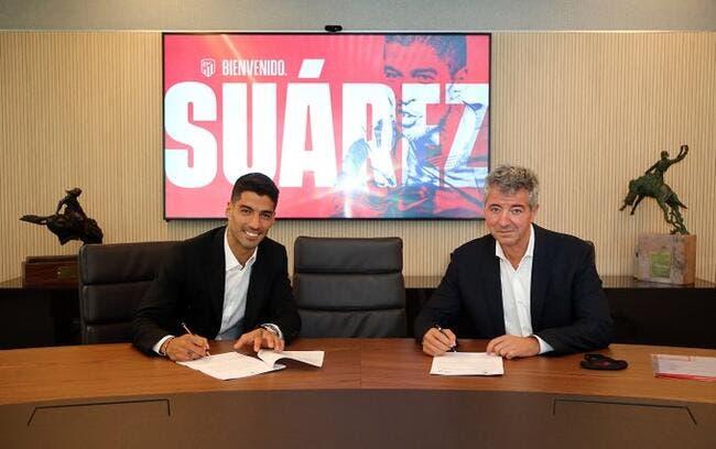 Officiel: Luis Suarez rejoint l'Atlético Madrid