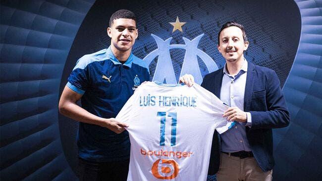 OM : Luis Henrique n'est pas prêt, Marseille est prévenu