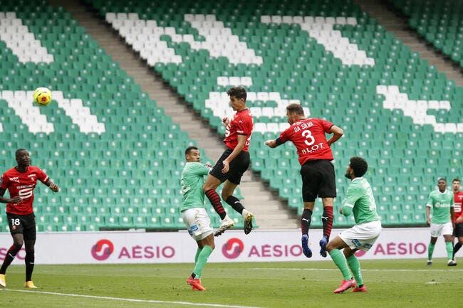 L1 : Rennes fait tomber St-Etienne et vire en tête !