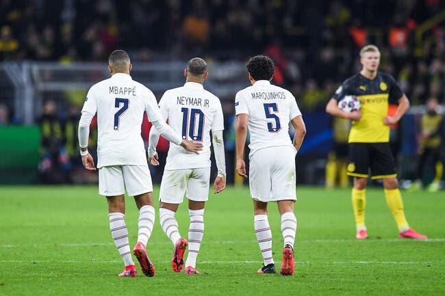 PSG : Neymar et Mbappé prolongés, Marquinhos est flou