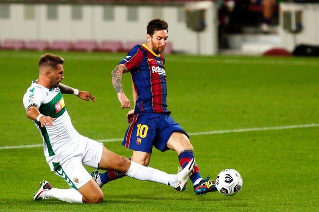Esp : Lionel Messi privé des clés du FC Barcelone
