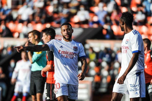 Garcia s'explique pour Depay — Lyon