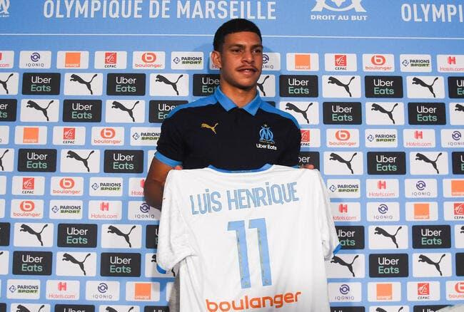 OM : Luis Henrique a déjà joué en pointe... une fois