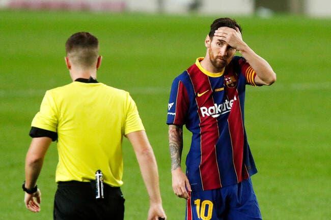 Esp : Lionel Messi éteint l'incendie au Barça