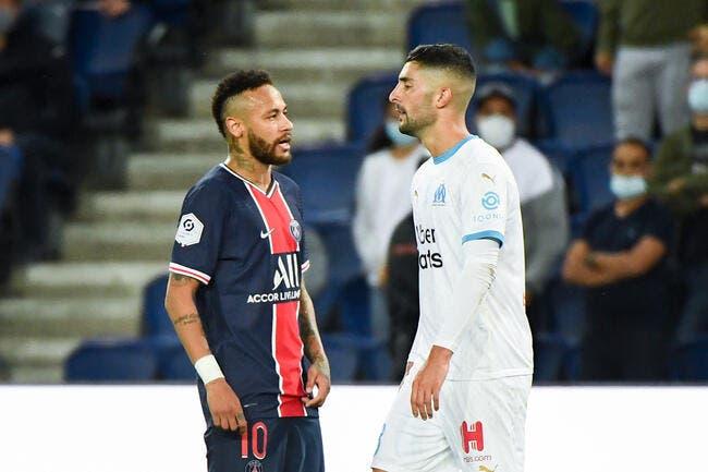 PSG-OM : Aucune sanction contre Neymar et Alvaro !