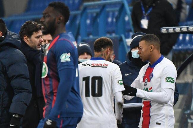 PSG : Neymar et Mbappé, Pochettino refuse de choisir