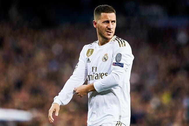 Real: Hazard successeur de Cristiano Ronaldo, il n'a pas digéré