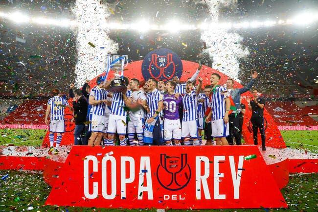 Esp : La Coupe du Roi pour la Real Sociedad